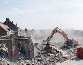Afbraak basisschool Meidoorn